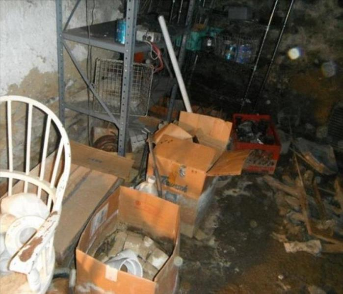 Water Damage Flooded Basement in Kensington