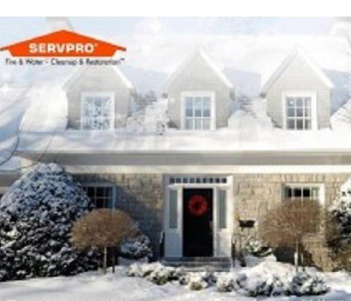 Storm Damage Snow storm tips from your SERVPRO of Poolesville/Clarksburg/Damascus.