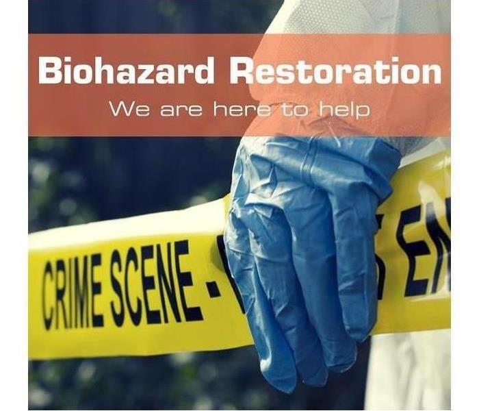 Biohazard Biohazard and crime scene cleanup from SERVPRO of Poolesville/Clarksburg/Damascus